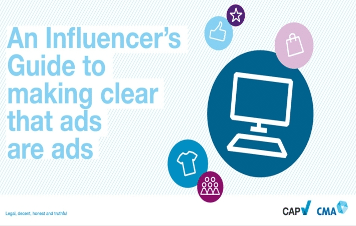 an influencer's guide to making clear that ads are as