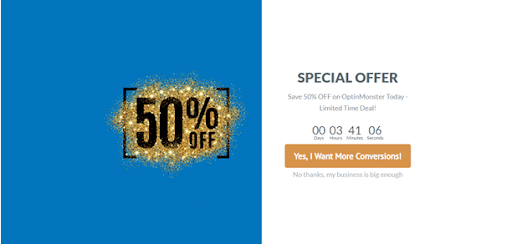 capture more leads with special offers