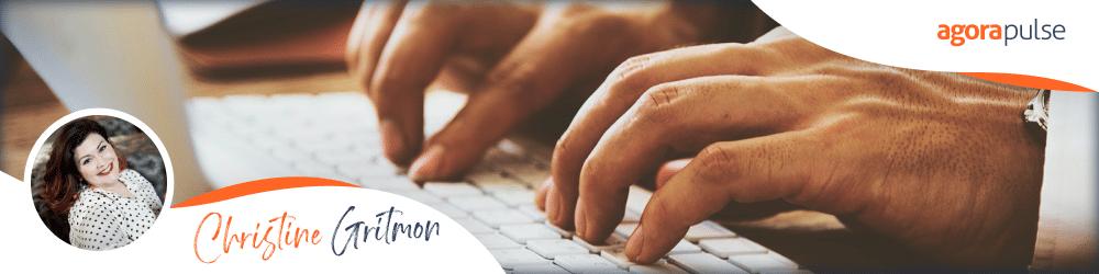 christine gritmon advice regarding social media management