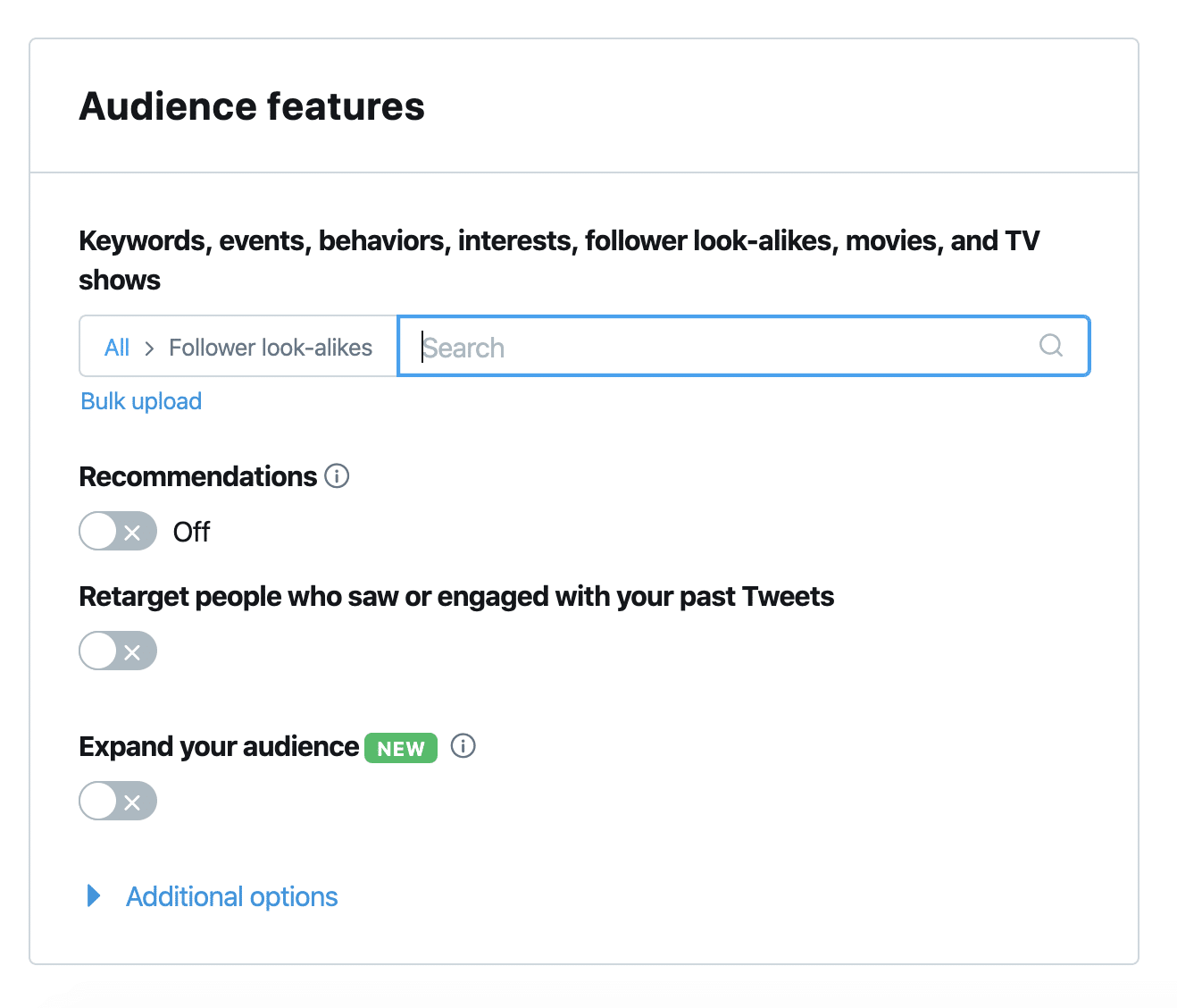 retargeting twitter audiences for twitter competitive analysis