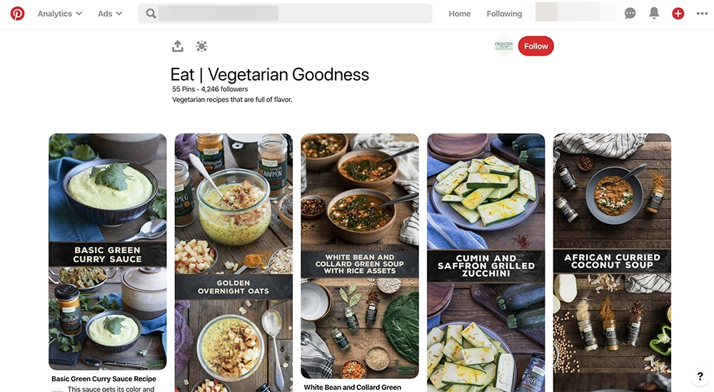 how to use text overlays on Pinterest