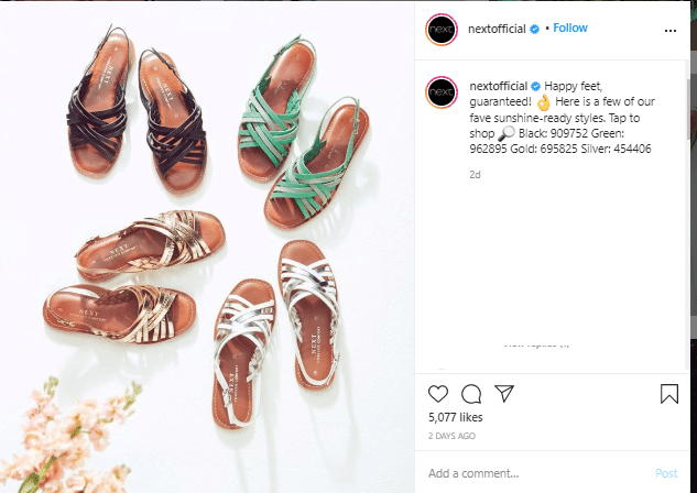captions in instagram example for social media managers