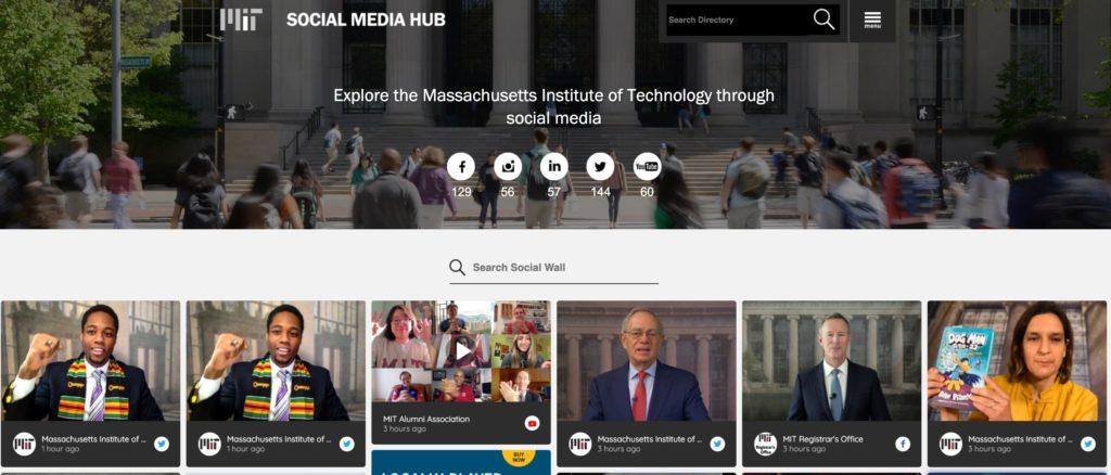 universities can do a social media audit first