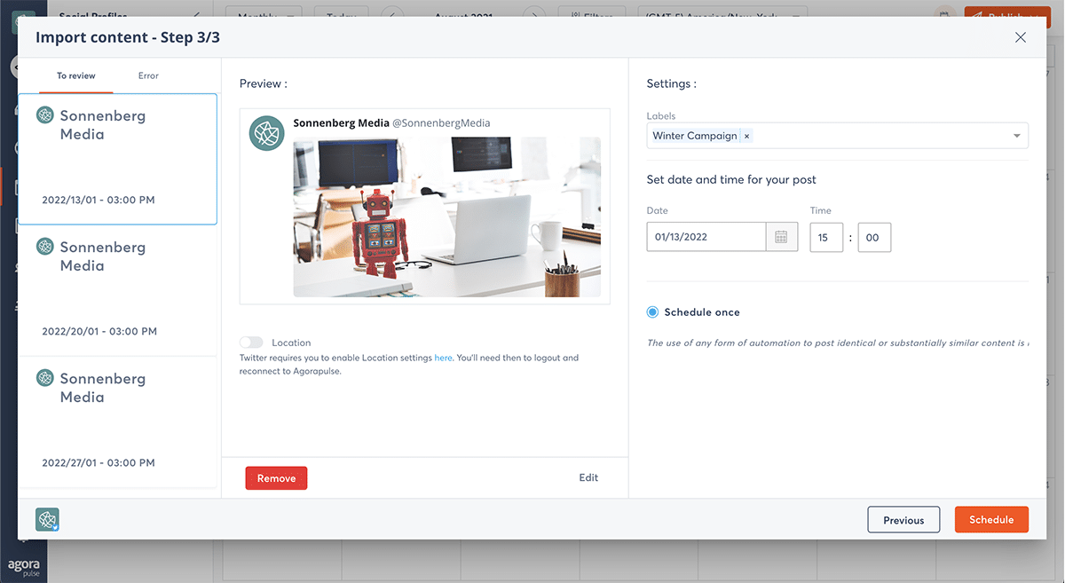 agorapulse how to use facebook business manager agorapulse bulk publishing