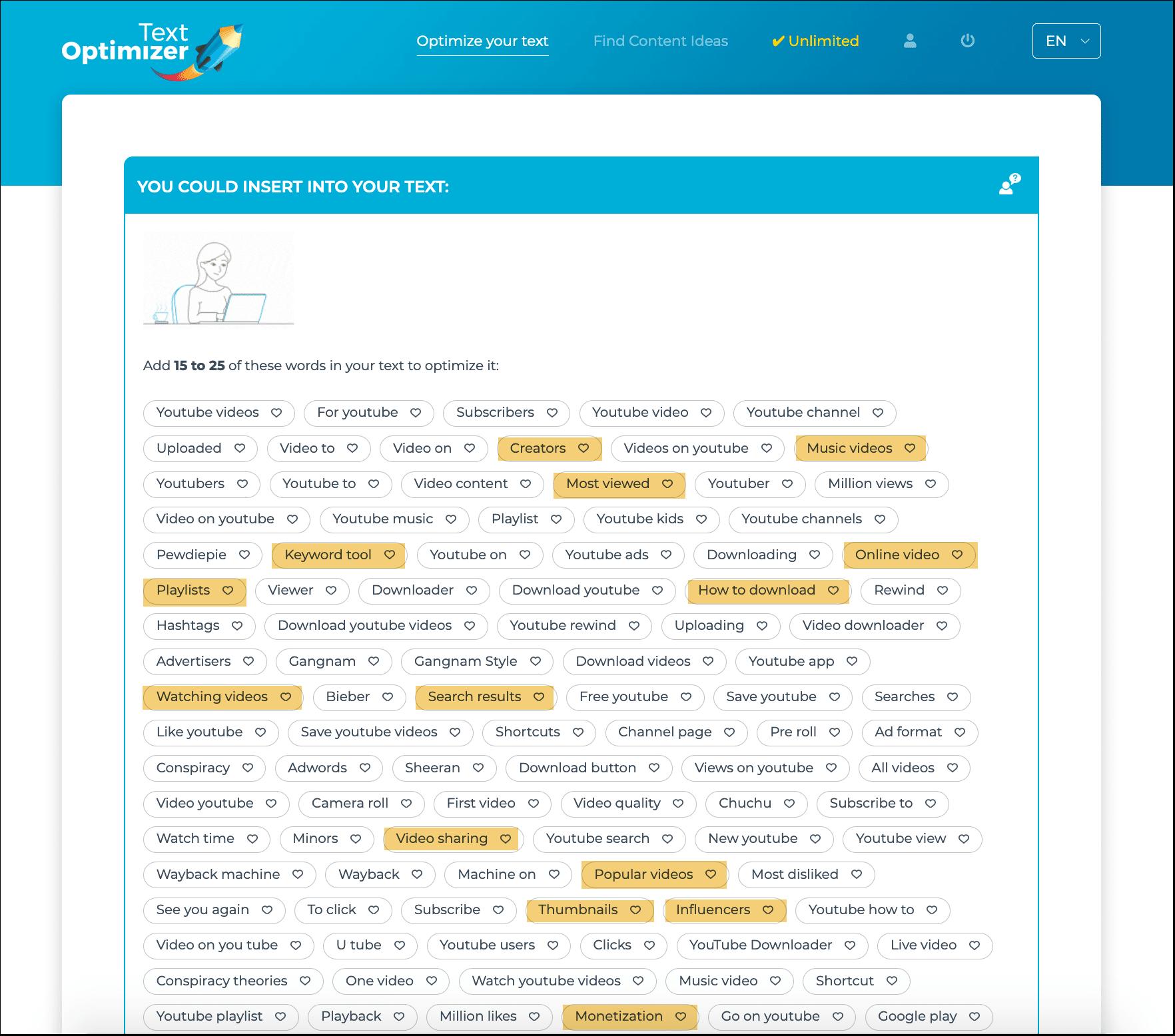 Text Optimizer
