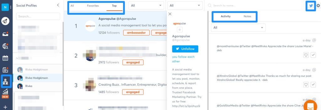 Twitter lists and social media management