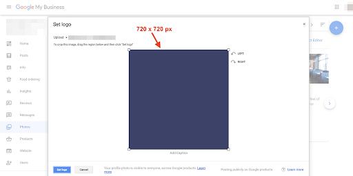 social media image sizes agorapulse google my business logo