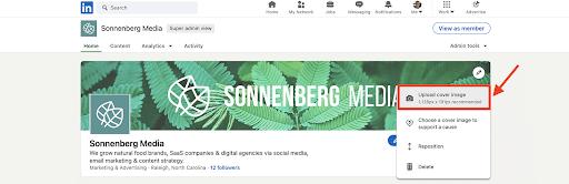 social media image sizes agorapulse linkedin company logo and cover image