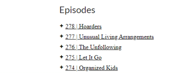 episode names