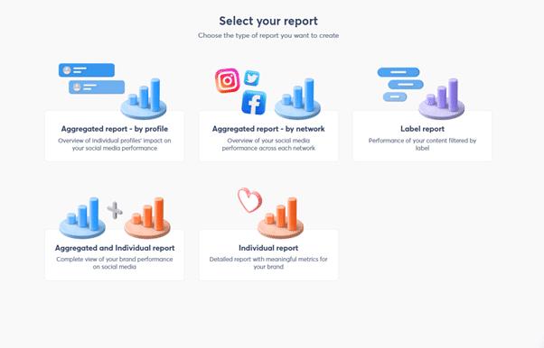 creating social media reports