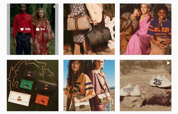 branding look for instagram marketing strategy