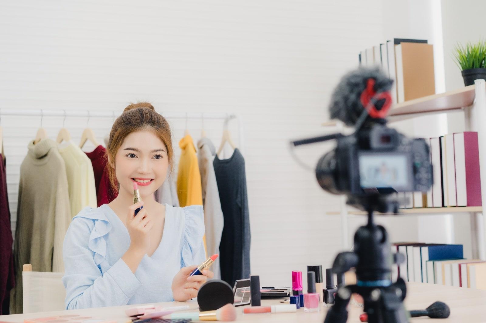 Beauty-Blogger-Geschäft