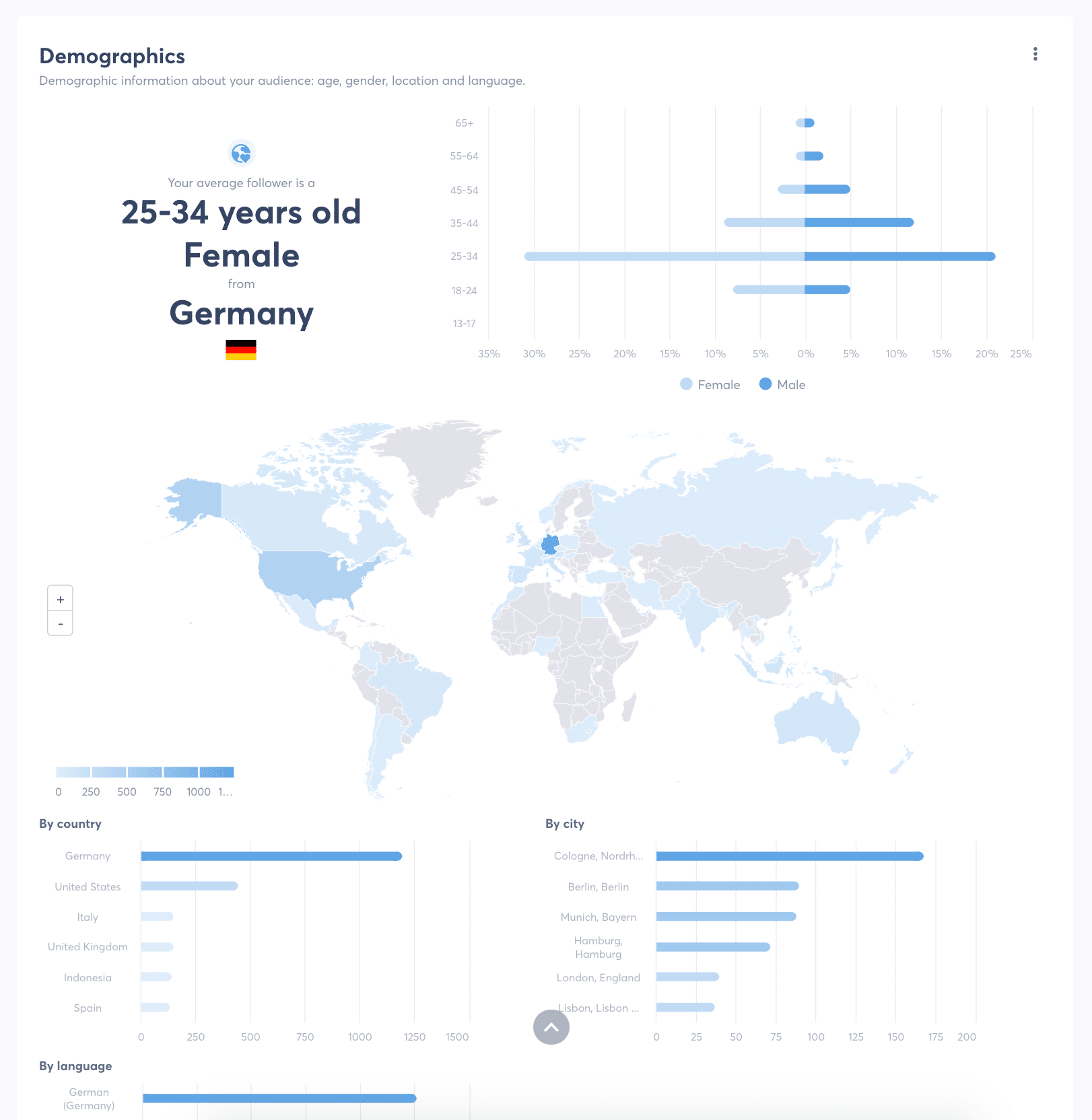 Social-Media-Analyse Demografie