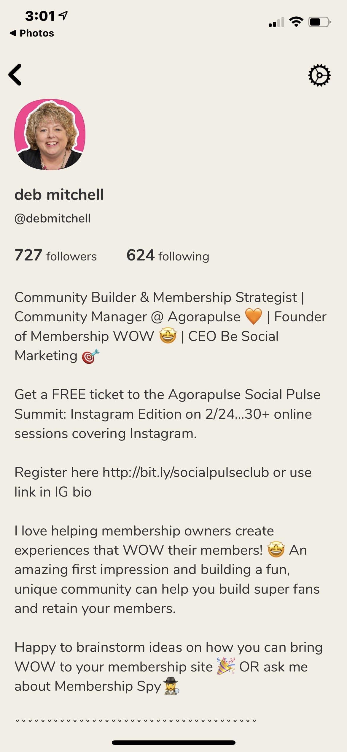 Profil in der Clubhouse-App