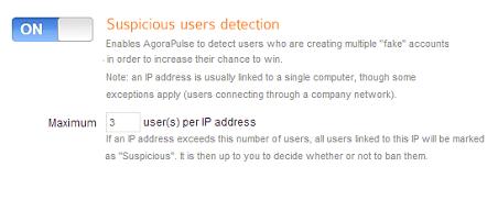 suspicious users detection
