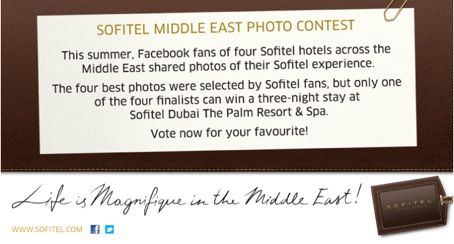 sofitel photo contest