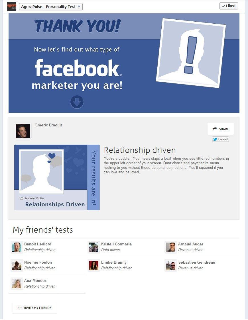 Facebook test de personalidad