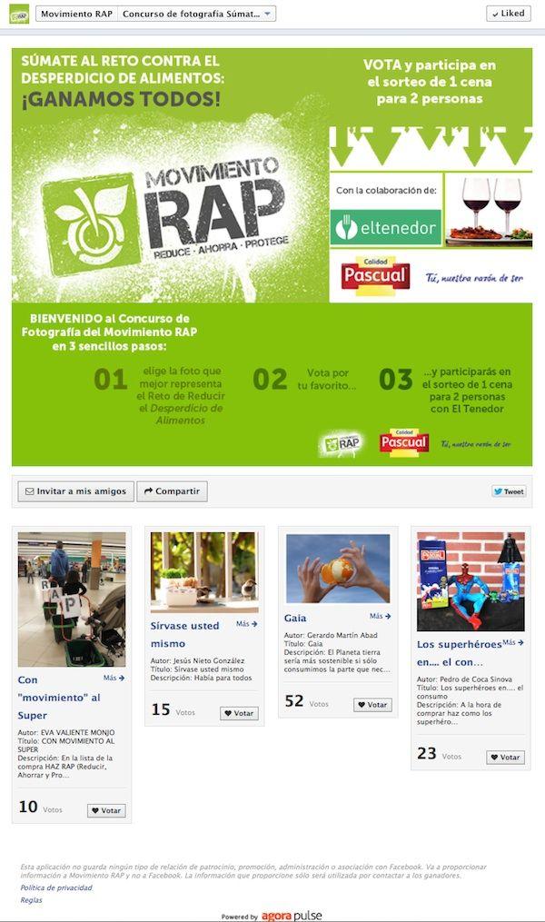 Facebook Votación de Fans - Movimiento RAP