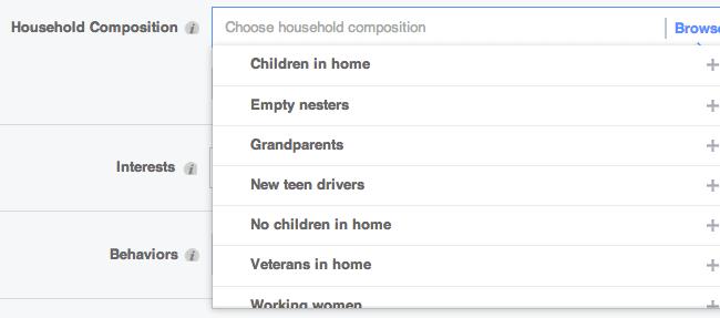 Household Composition Partner Categories
