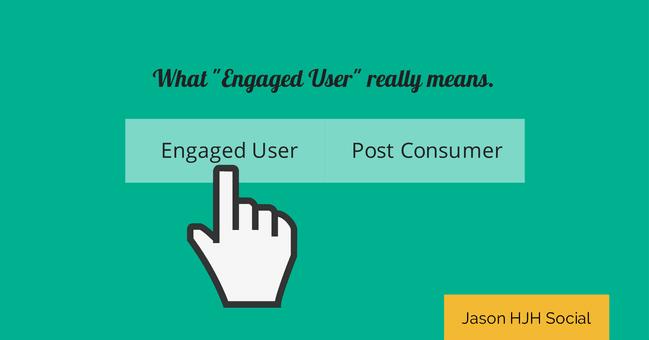 Qué es Engagement en Facebook - Engaged User