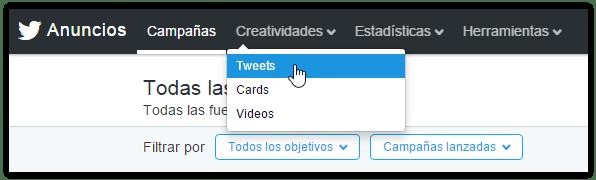 programar tweets gratis desde twitter ads