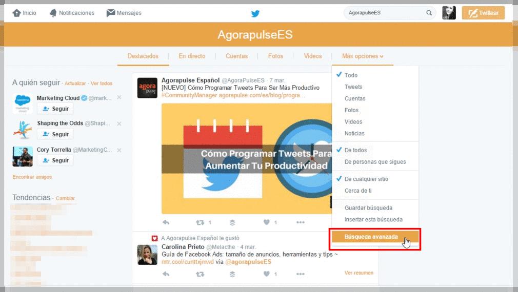 monitorear-twitter-busquedas-avanzadas-agorapulse