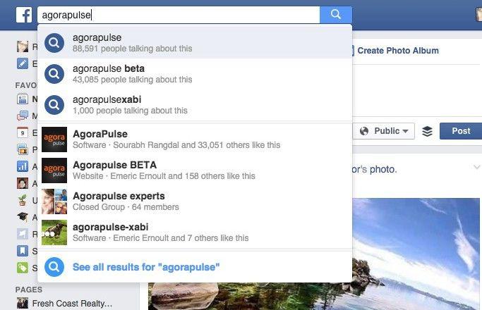 Facebook FYI Search