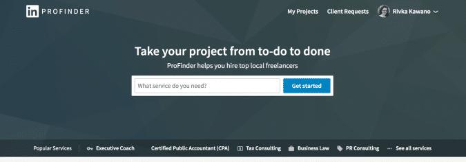 LinkedIn Publishing Shows Up on ProFinder