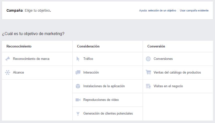 Objetivo-campaña-facebook