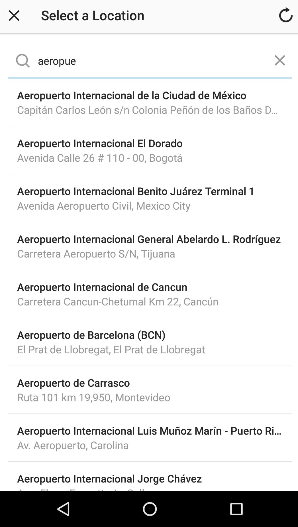 instagram locations