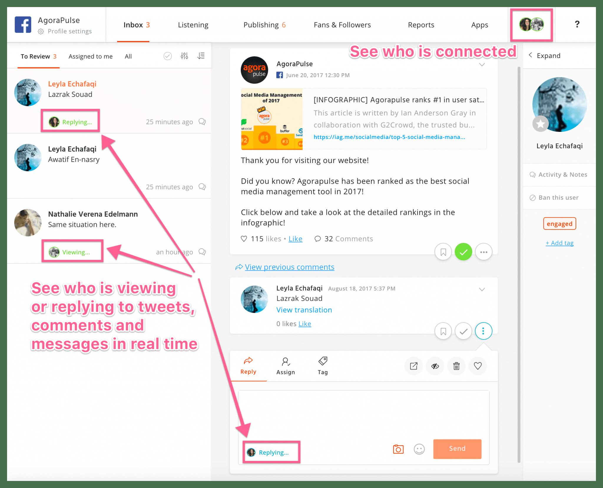 realtime collaboration dashboard