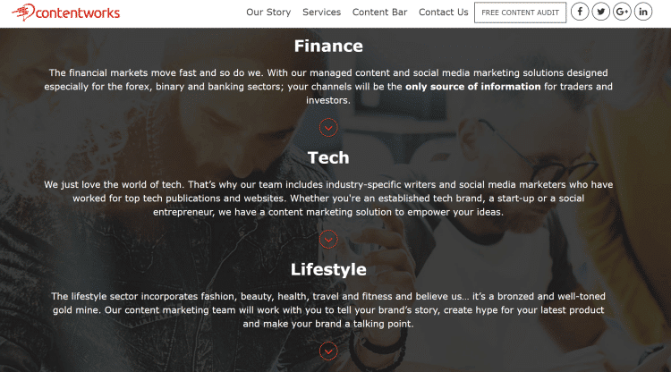social media finance