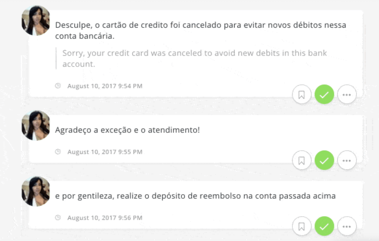 Agorapulse Facebook translation tool