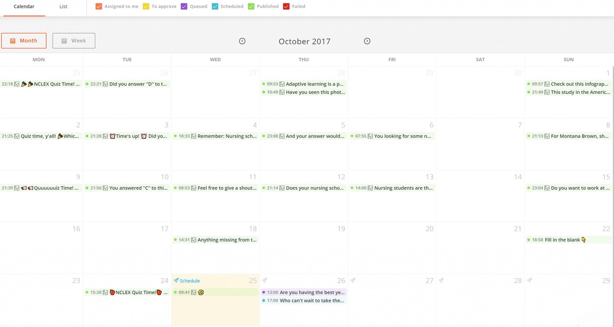 facebook-content-calendar
