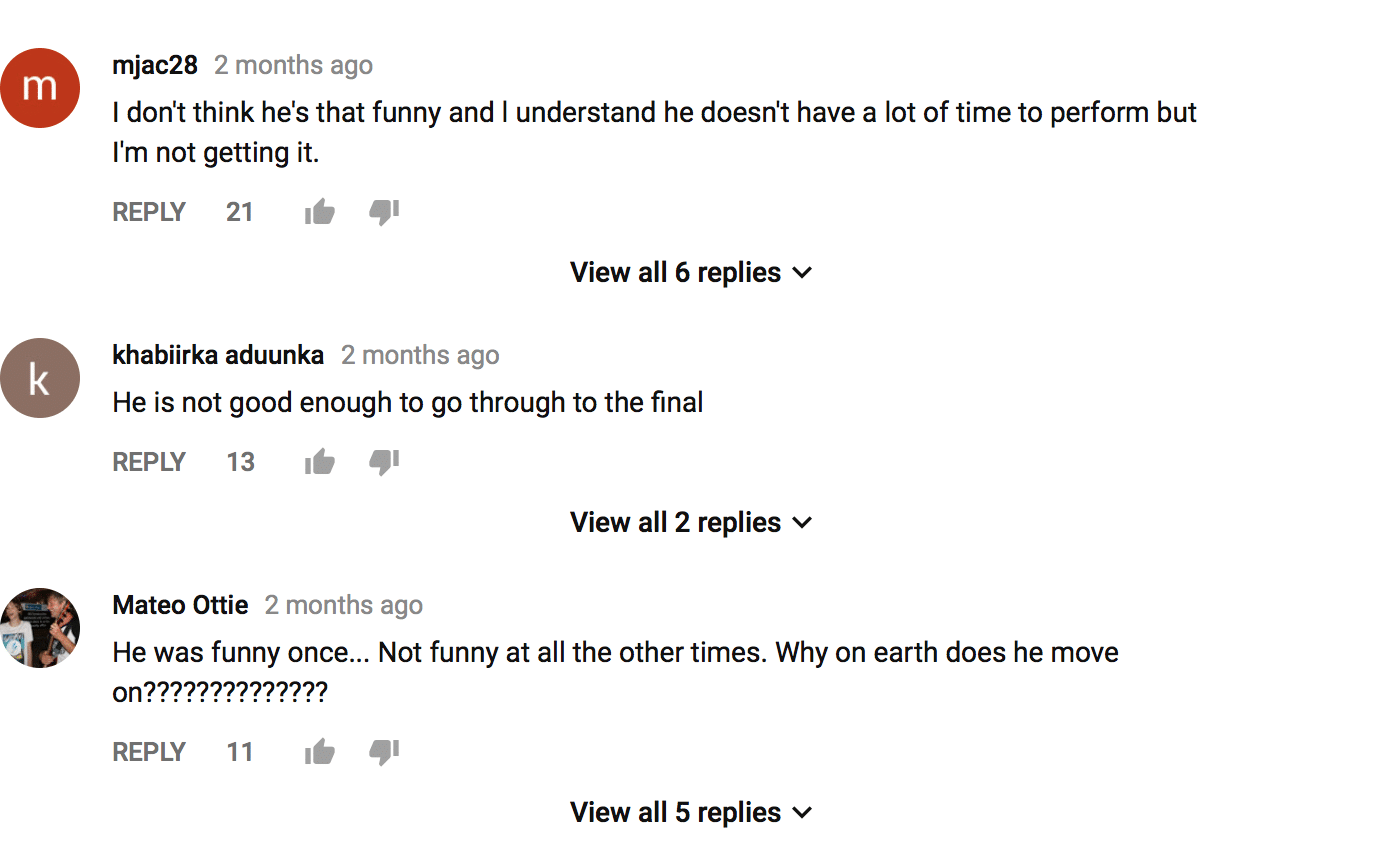 how to get more comments on YouTube