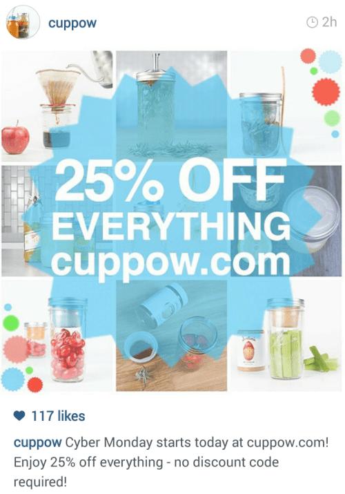 cuppow-instagram-sale