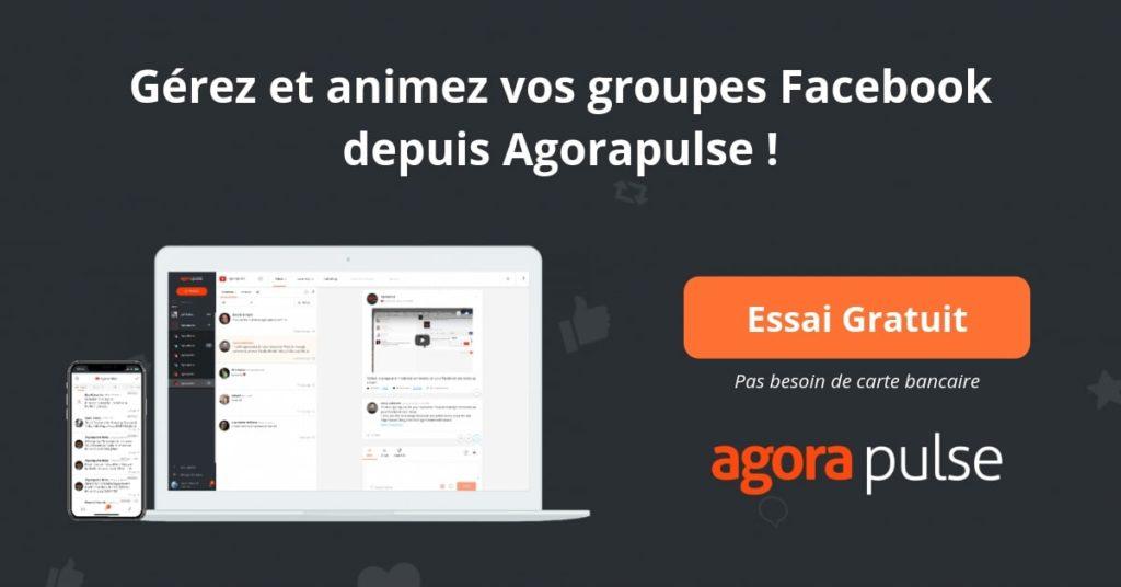 groupe facebook agorapulse