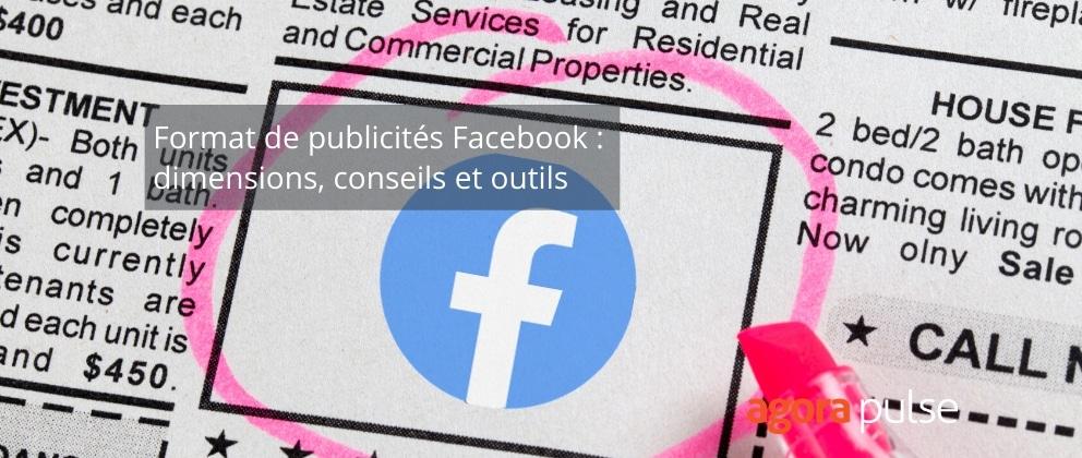 format pub facebook