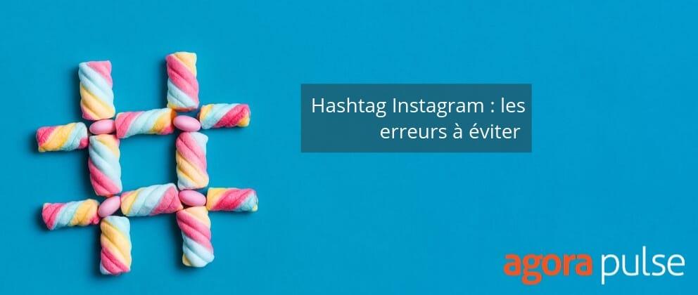 Erreur Hashtag