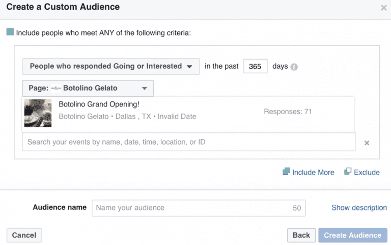 3-audience-personnalisee-facebook-ads-evenement-agorapulse