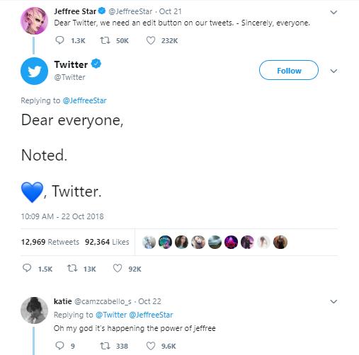 editer tweets