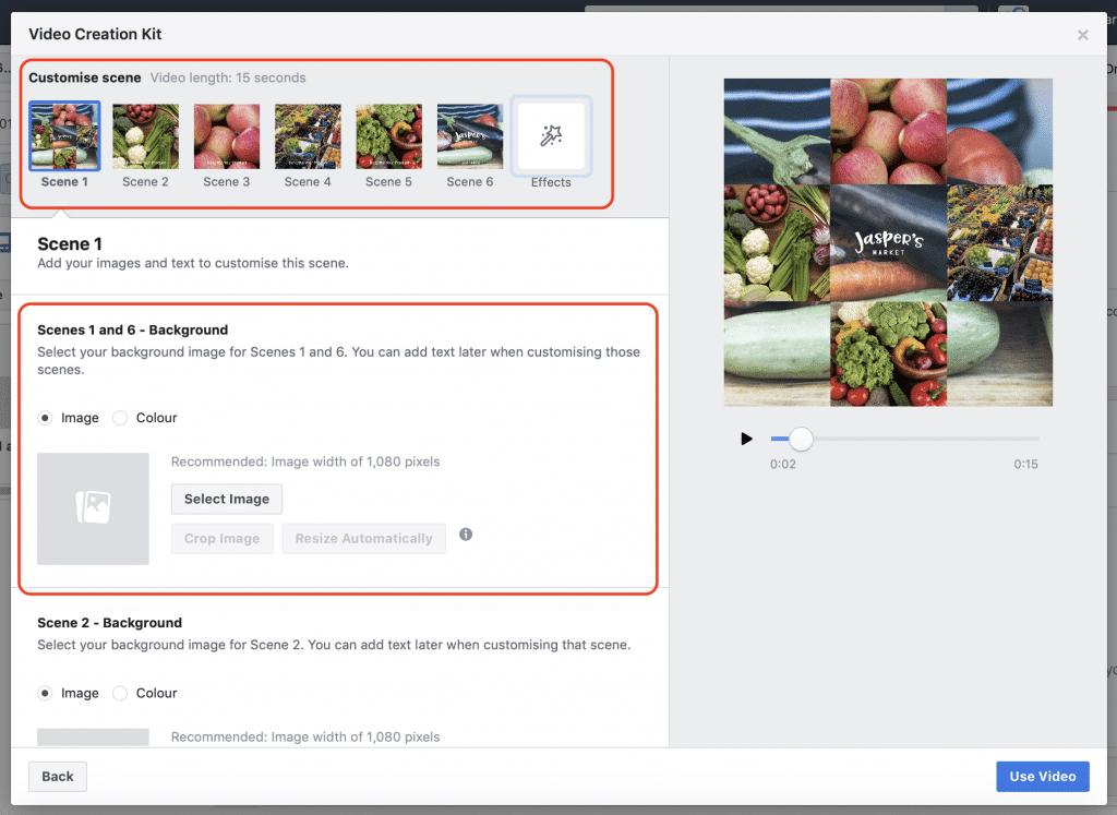 outil réseaux sociaux video facebook