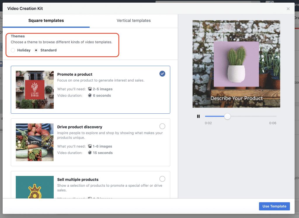 kit creation video facebook