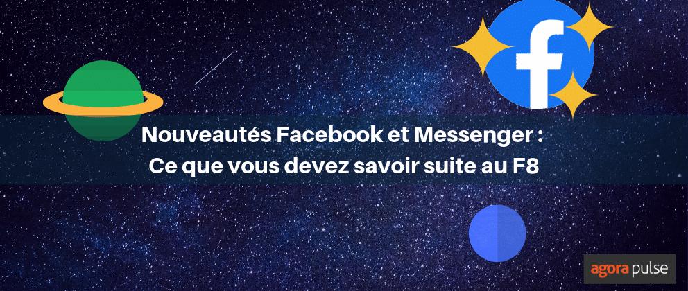 nouveautés FB Messenger