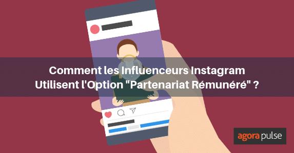 partenariat rémunéré instagram