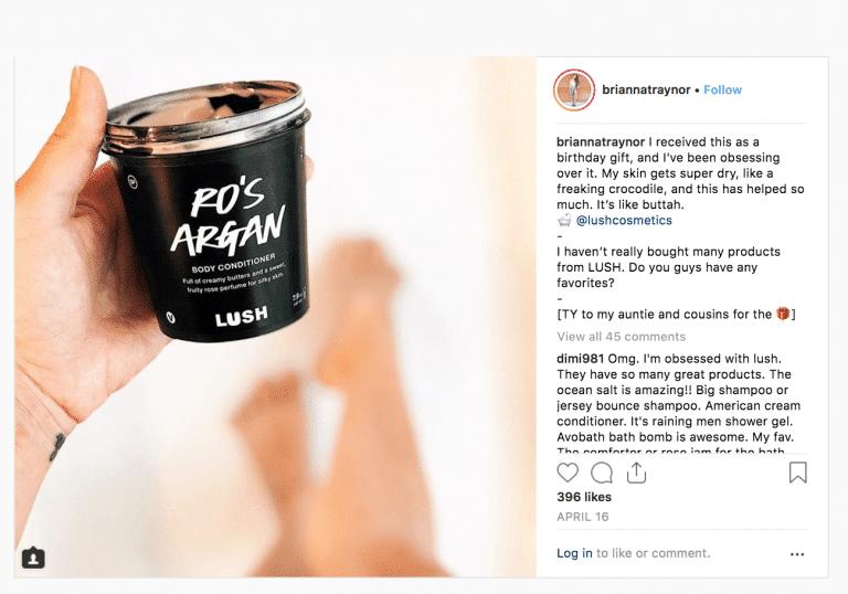instagram partenariat influenceur