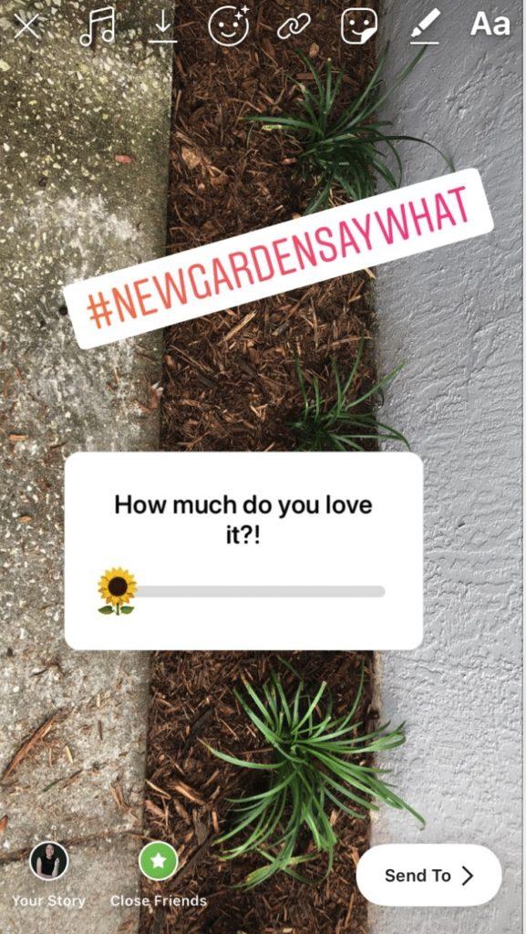 création de stories sur Instagram