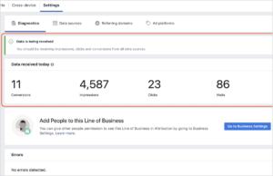 explication parametrage Facebook Attribution