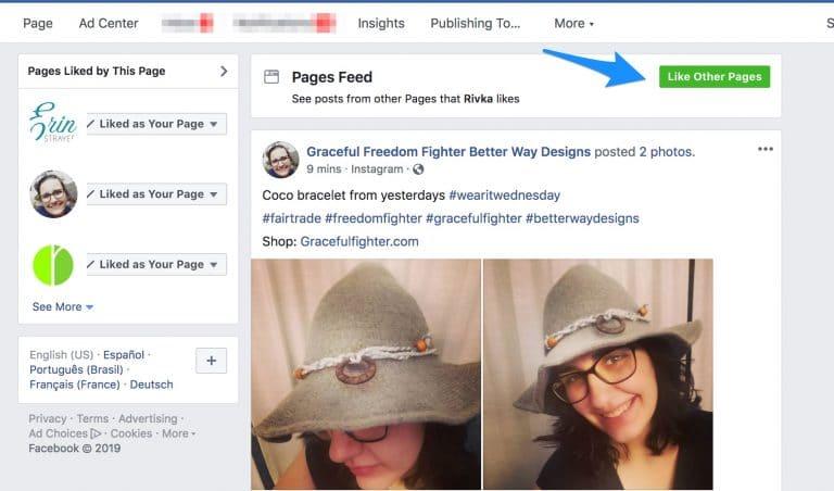 page facebook outil community management