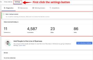 paramétrer Facebook Attribution